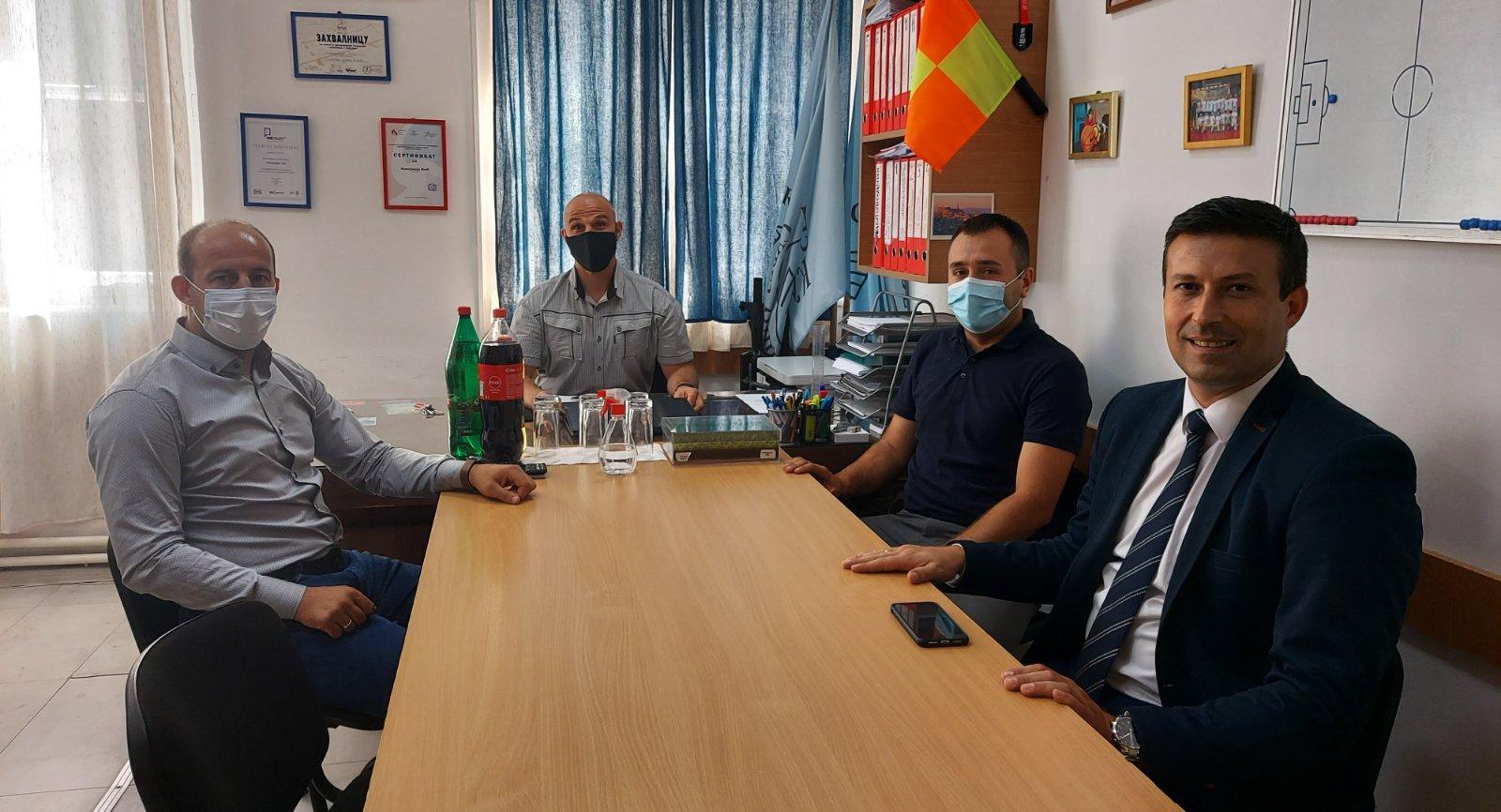 Генерални секретар Спортског савеза Србије посетио општину Кучево!